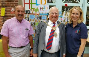 David Griffiths - Allotment Association, Mayor of Harrogate - Cllr Nick Brown and Anna