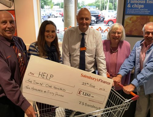 HELP 'cheques out' of Sainsbury's partnership