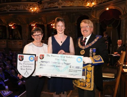 Funding boost from Freemasons