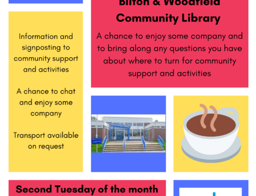Here to HELP drop in sessions at Bilton & Woodfield Community Library