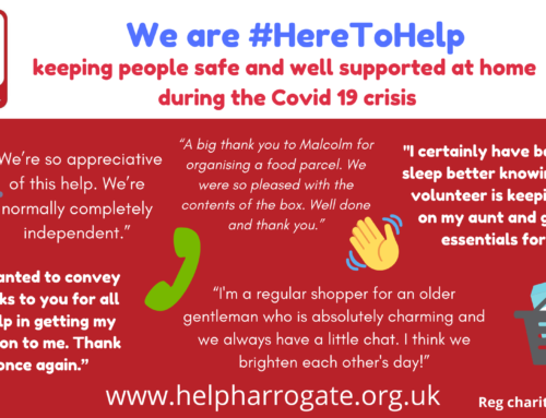 Simple ways to support HELP during the Covid 19 crisis