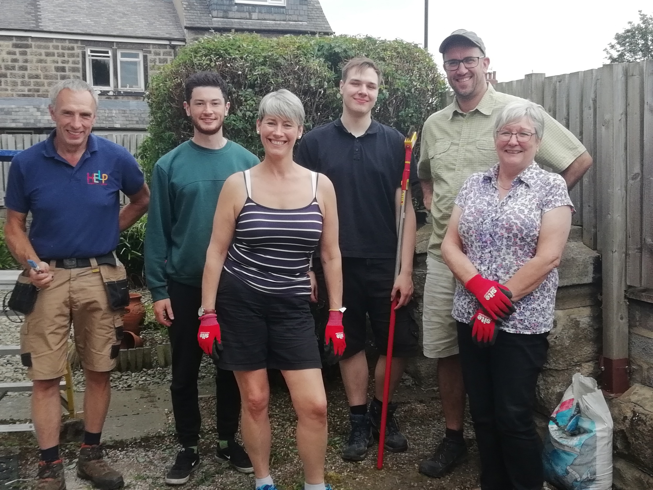 M&S store staff make their 'mark' on local gardens