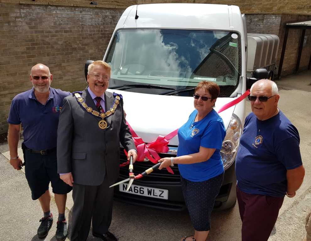 Van-tastic fundraising for Help at Home
